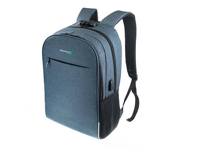 бу Рюкзак для ноутбука Grand-X RS-425BL 15.6 Blue (кодовый замок) в Харькове