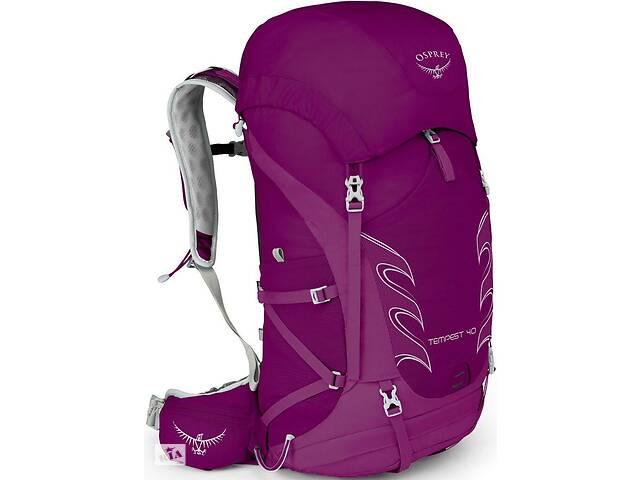 Рюкзак для туриста Osprey Tempest 40 Mystic Magenta WS/WM, женский, 40 л, фиолетовый- объявление о продаже  в Киеве