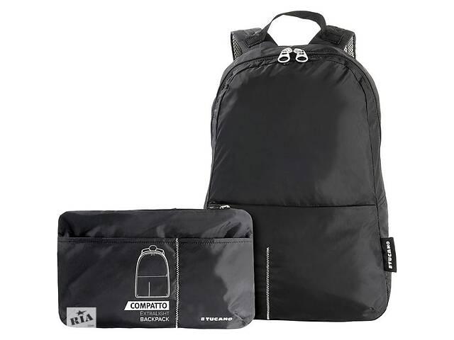 купить бу Рюкзак раскладной, Tucano Compatto XL, (черный) в Києві