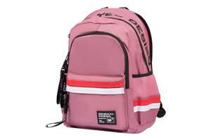 Рюкзак шкільний підлітковий YES Maybe Рожевий (558746)
