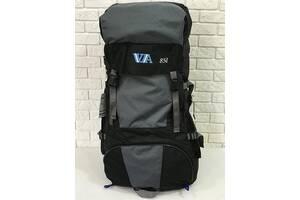 Рюкзак туристичний VA T-04-2 85л, сірий