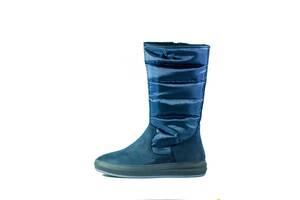 Сапоги зимние женские MIDA 34121-625Ш синие (36)