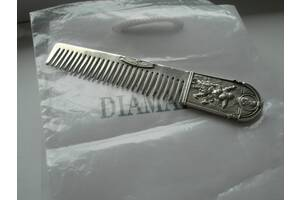 Серебряная расческа, 830 проба, 30,4 грамма, отличная