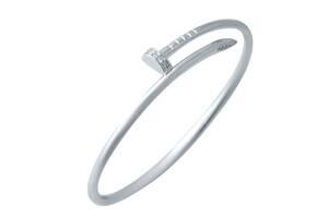 Серебряный браслет SilverBreeze с фианитами (2031062) 18 размер