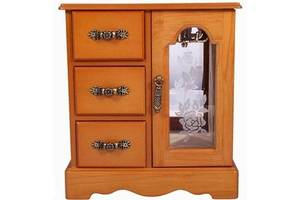 Шкафчик для украшений King Wood JF-C3012A светло-коричневый