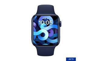 "Смарт-часы Aiver Watch AK76 1.75"" IPS Bluetooth v5.0 Android/iOS Blue"