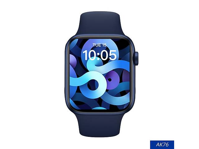 "бу Смарт-часы Aiver Watch AK76 1.75"" IPS Bluetooth v5.0 Android/iOS Blue в Харькове"