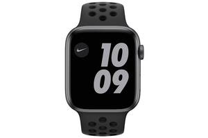 Смарт-часы Apple Watch Nike Series 6 GPS 44mm Space Gray Aluminium Case with Anthracite/Black Nike Sport Band Regular