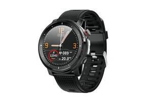 Смарт-часы Microwear L15 с тонометром Черные (301-1)