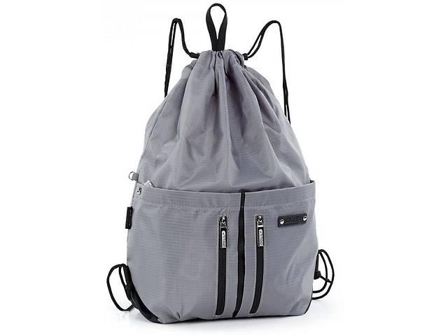 продам Спортивный рюкзак-мешок Dolly 842 серый на 16л бу в Киеве