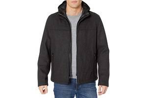 Стильна тепла вовняна куртка з капюшоном Tommy Hilfiger Wool Blend Jacket Оригінал Сша