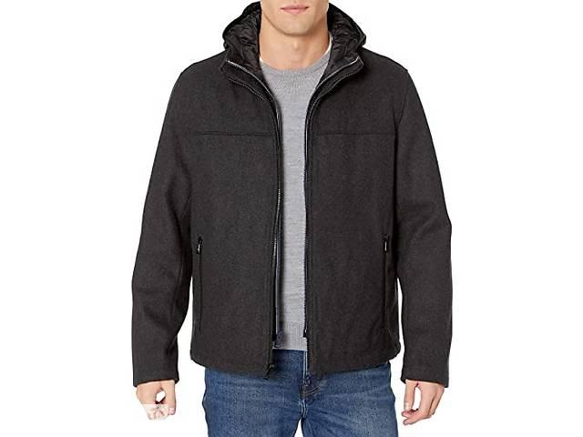 продам Стильная теплая шерстяная куртка с капюшоном Tommy Hilfiger Wool Blend Jacket Оригинал Сша  бу в Киеве