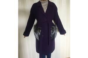 Стильное зимнее пальто украинского бренда