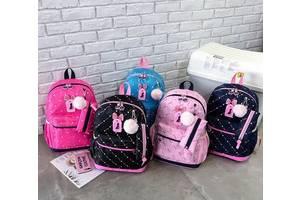 Стильный набор Рюкзак и сумочка для модных девушек