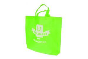 Сумка для покупок Supretto зеленая (5909)