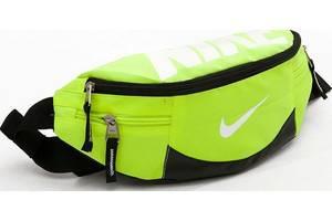 Сумка поясная, реплика Nike Team Training 145, салатовая