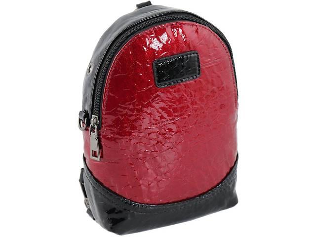 Сумка рюкзак Traum женская кожзам красный- объявление о продаже  в Киеве