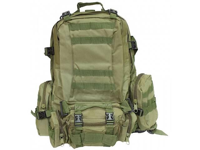 бу Тактический рюкзак 36 л. ML-Tactic большой с подсумками Olive, BE0377UA (Оливковый) в Киеве