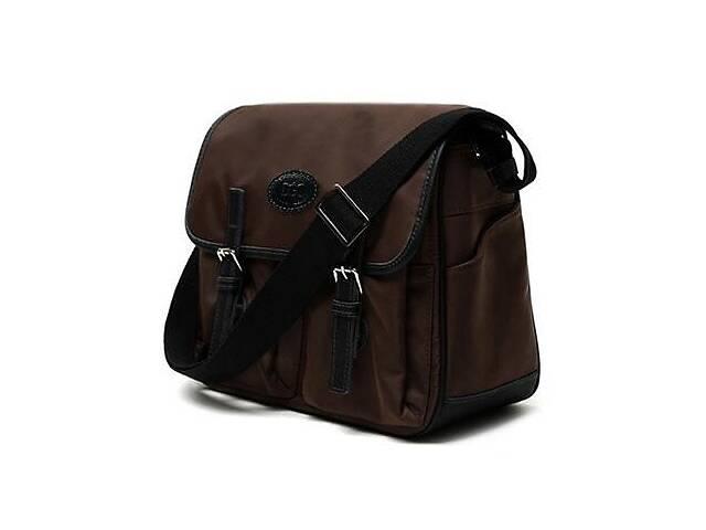 купить бу Тканевая мужская сумка через плечо для ноутбука  Doogacci Dgcc110622BR в Киеве