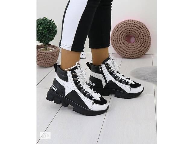 продам ТОЛЬКО 36р Зимние спортивные ботинки в стиле Dolce & Gabbana 36р бу в Ровно
