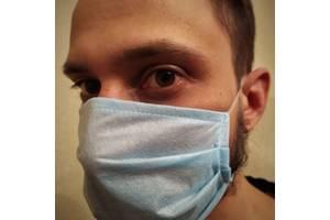 Трёхслойные одноразовые защитные маски