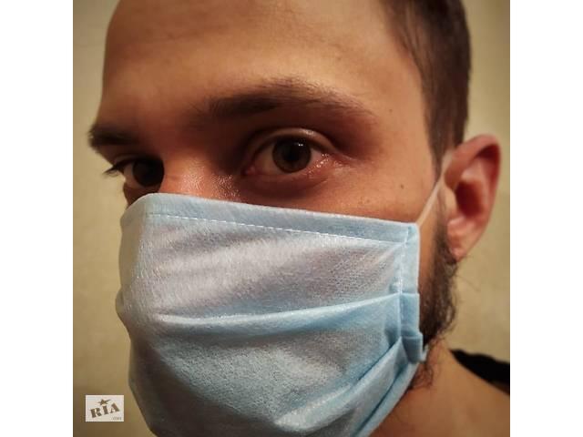 продам Трёхслойные одноразовые защитные маски бу в Харькове