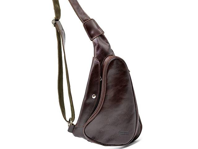 продам Трендовый рюкзак из натуральной кожи на одно плечо   бренд TARWA TRWGX-3026-4lx бу в Киеве