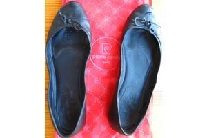 Туфли балетки чёрные 40 на 39.5 полный 26 см. торг