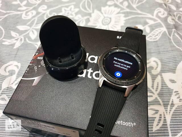 бу Умные часы Samsung Galaxy Watch Silver 46мм в Киеве