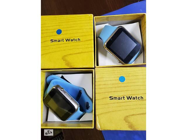 купить бу Умные смарт часы Apple Watch Series Bluetooth Сим карта Android/IOS из США.Копия.Новые. в Киеве