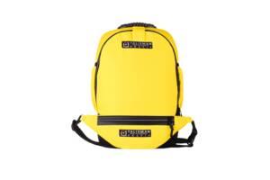 """Універсальний міський рюкзак трансформер talisman модель """"smart"""" жовтий + бананка"""