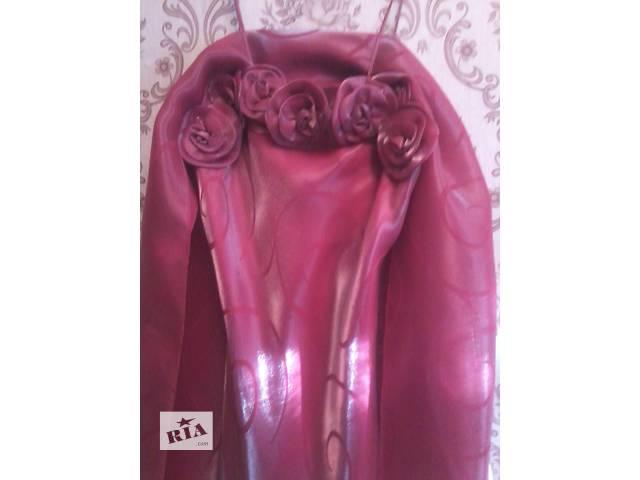 бу Вечернее/выпускное платье с шарфиком.Размер 42-44. в Харкові