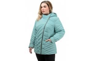 Женская демисезонная куртка Эмма, размеры 50 - 56, цвета разные