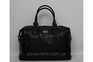 Женская дорожная сумка David Jones в дорогу кожаная (кожа искусственная) / Саквояж женский кожаный