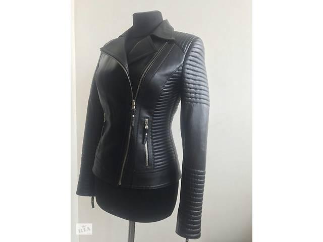 Женская кожаная куртка- объявление о продаже   в Украине