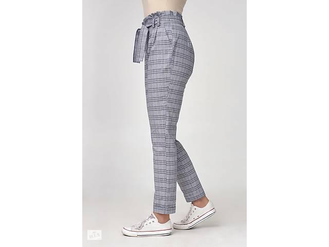 купить бу Жіночі лляні штани із завищеною талією 5f88f907d20dc