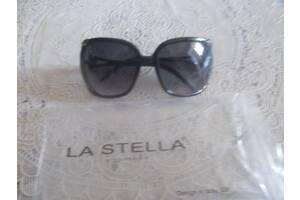 Женские солнцезащитные очки la stella, черные