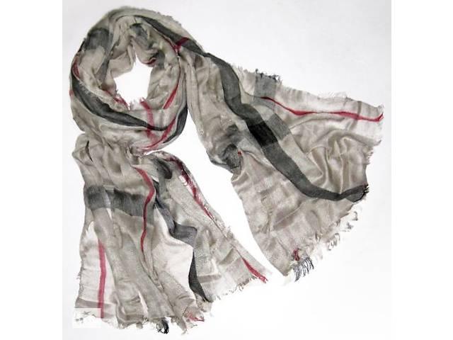 купить бу Женский шарф в стиле Burberry 200 на 100 dress 654_кофе_с_молоком в Киеве