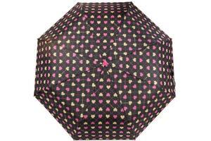 Женский зонт полуавтомат Barbara Vee черный