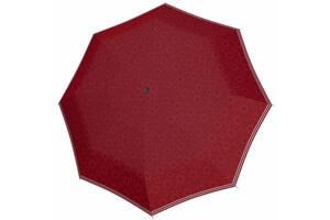 Женский зонт полуавтомат Doppler бордовый