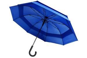 Зонт-трость полуавтомат Bergamo 45300-44, синий