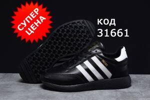 Зимові чоловічі кросівки Adidas Iniki-3166 натурал. хутро