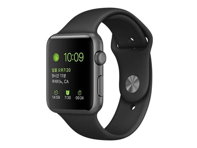 бу Cмарт-часы Apple Watch Sport  42 mm Space Gray (новые) в Каменском (Днепропетровской обл.) (Днепродзержинск)