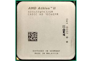 3 ядра 3.3 ГГц процессор AMD Athlon II X3 455 сокет AM3