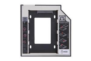 "Адаптер карман-переходник на второй жесткий диск Kronos 2,5"" SATA-SATA 12.7 (gr_004832)"