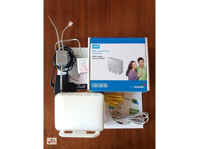 бу ADSL модем вайфай укртелеком Huawei HG532e сплітер в Переяславі-Хмельницькому