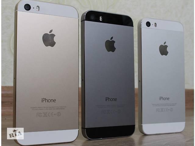 купить бу Apple iPhone 5S-32GB (ВСЕ ЦВЕТА!) ОБМЕН в Херсоне