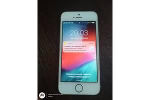 Apple iPhone 5S A1533 16ГБ LTE оригінал з США, Неверлок ! ID (icloud) чистий ios 12.4.8.Бампер