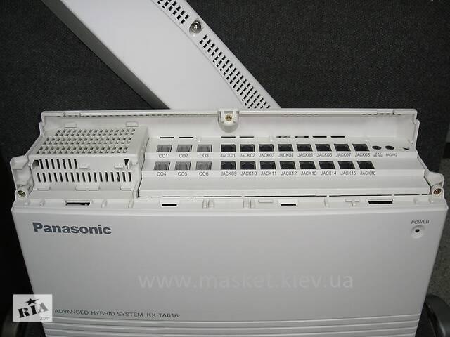 бу АТС Panasonic KX-TA616 б/у  в Киеве