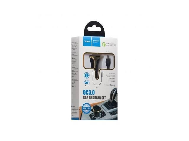 Автомобильное Зарядное Устройство Hoco Z31 QC3.0 Micro SKL11-279663- объявление о продаже  в Киеве
